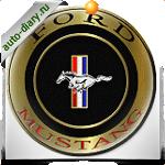 Эмблема Ford Mustang