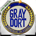 Эмблема Gray Dort
