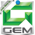 Эмблема Gem Global Electric Motorca