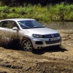 Фотографии нового Volkswagen Touareg