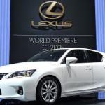 В Японии началось производство гибрида Lexus CT 200h