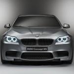 Первые фото BMW M5 концепт, которая будет показана на Шанхайском Авто Шоу 2011