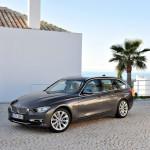 Новенькая BMW 3-серии 2012 модельного года, теперь и универсал.