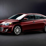 Toyota представила информацию о силовых агрегатах седана Avalon 2013 модельного года