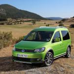 Линейка автомобилей серии «Cross» от Volkswagen пополнится новеньким пассажирским Caddy