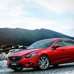 На Авто Шоу в Москве была представлена новая Mazda 6 2014 модельного года