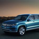 На Авто Шоу в Детройте был представлен концепт кроссовера от Volkswagen под названием CrossBlue