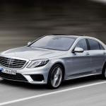 Mercedes-Benz S63 AMG 2014 модельного года мощностью 577 лошадиных сил